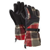Burton Vent Kids Gloves, Keef Revolt Plaid, medium