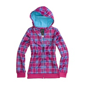 Burton Scoop Kids Hoodie, Tart Punkstar Plaid, medium