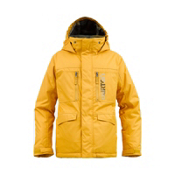 Burton Distortion Boys Snowboard Jacket, Saffron, medium
