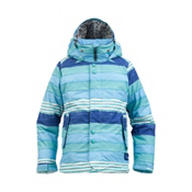 Burton Melody Girls Snowboard Jacket, Avatar Painted Stripe, medium