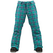 Burton Sweetheart Girls Snowboard Pants, Paradise Punkstar Plaid, medium
