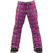 Burton Sweetheart Girls Snowboard Pants, Tart Punkstar Plaid, medium