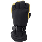 Grandoe Hybrid Gloves, Black-Palomino, medium