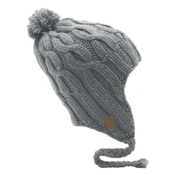 Coal Highland Flap Hat, Grey, medium