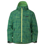 Marker Stratum Mens Insulated Ski Jacket, Green, medium