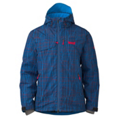 Marker Stratum Mens Insulated Ski Jacket, Blue, medium