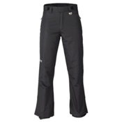 Marker Gillette Waist Mens Ski Pants, Black, medium