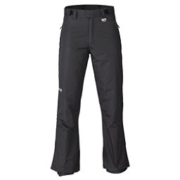 Marker Gillette Waist Mens Ski Pants, Black, 256