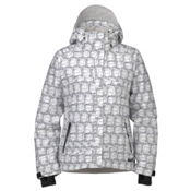 Marker Melanie Womens Insulated Ski Jacket, White, medium