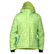 Marker Melanie Womens Insulated Ski Jacket, Lime, medium