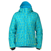 Marker Melanie Womens Insulated Ski Jacket, Caribbean, medium