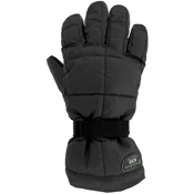 Grandoe Mother Goose Kids Gloves, Black, medium