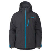 Marker Maze Mens Insulated Ski Jacket, Black, medium