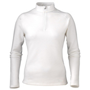 Marker Active Zip-T Womens Mid Layer, White, medium