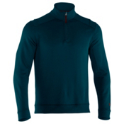 Under Armour Rhyme Stone 1/4 Zip Mens Mid Layer, Skylark-Prune, medium