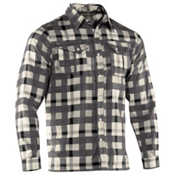 Under Armour Legit 2 Flannel, Black-Storm-Ivory, medium