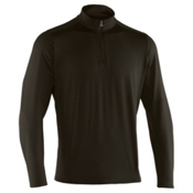 Under Armour Evo ColdGear 1/4 Zip Mens Mid Layer, Rifle Green-Black, medium