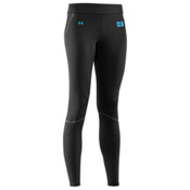 Under Armour Base 2.0 Womens Long Underwear Pants, Black-Cortez, medium