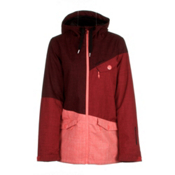 O'Neill Segment Womens Insulated Snowboard Jacket, Cape Red, medium