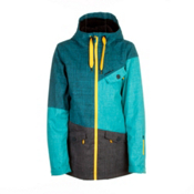 O'Neill Segment Womens Insulated Snowboard Jacket, Enamel Blue, medium