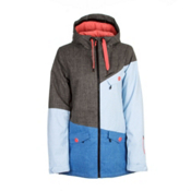 O'Neill Segment Womens Insulated Snowboard Jacket, Marl Brown, medium