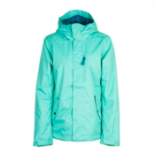 O'Neill Abalone Womens Insulated Snowboard Jacket, Spearmint, medium