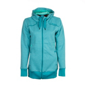 O'Neill Sparkle Fleece Womens Hoodie, Enamel Blue, medium