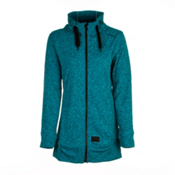 O'Neill Amber Fleece Womens Hoodie, Enamel Blue, medium