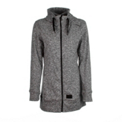 O'Neill Amber Fleece Womens Hoodie, Mareine Melee, medium
