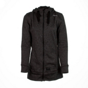 O'Neill Amber Fleece Womens Hoodie, Black Out, medium