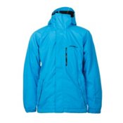 O'Neill District Mens Insulated Snowboard Jacket, Dresden Blue, medium