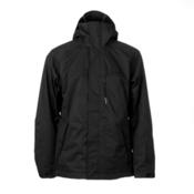 O'Neill District Mens Insulated Snowboard Jacket, Black Out, medium