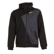 O'Neill Line Up Fleece Hoodie, Black Out, medium