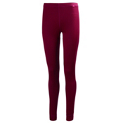 Helly Hansen Dry Womens Long Underwear Pants, Red Grape, medium