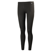 Helly Hansen Dry Womens Long Underwear Pants, Black, medium