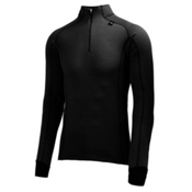 Helly Hansen Warm Freeze 1/2 Zip Mens Long Underwear Top, Black, medium