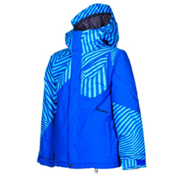 Volcom Ace Insulated Boys Snowboard Jacket, Arctic Blue, medium