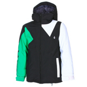 Volcom Impact Insulated Boys Snowboard Jacket, Black, medium