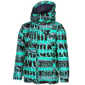 Volcom Impact Insulated Boys Snowboard Jacket, Echo Stripe, medium