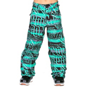 Volcom Launch Insulated Kids Snowboard Pants, Echo Stripe, medium