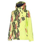 Volcom Cremini Womens Shell Snowboard Jacket, Enlighten Stoned, medium