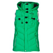 Volcom Cicely Puff Womens Vest, Poison, medium