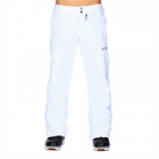 Volcom Boom Insulated Womens Snowboard Pants, White, medium