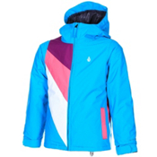Volcom Bird Insulated Girls Snowboard Jacket, Sky, medium