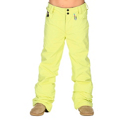 Volcom Tweet Insulated Girls Snowboard Pants, Sparkler, medium