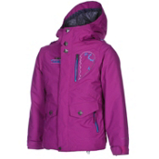 Volcom Penny Insulated Girls Snowboard Jacket, Mystic, medium