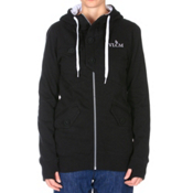 Volcom Taro Womens Hoodie, Black, medium