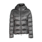 Moncler Jersey Womens Jacket, Grey, medium