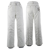 White Sierra Snow Queen Insulated Womens Ski Pants, Cloud, medium