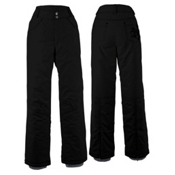 White Sierra Snow Queen Insulated Womens Ski Pants, Black, medium